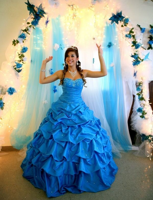 Beautiful Blue Dresses For Wedding