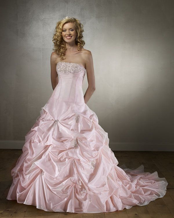 How To Choose Coloured Wedding Dresses For Your Hair Types And Skin
